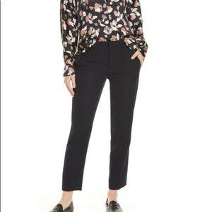 Vince Flat Front Crop Trouser